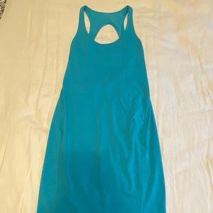 Lululemon turquoise midi dress